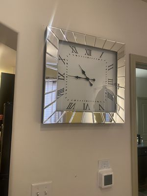 Wall decoration clock mirror for Sale in Dracut, MA