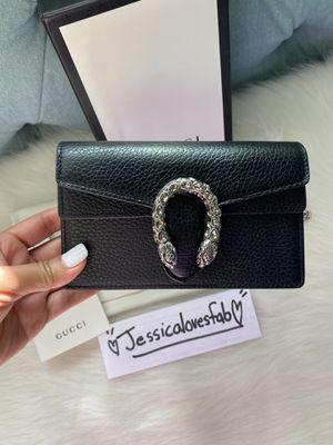 Black Gucci Dionysus mini bag for Sale in Bloomfield, NJ