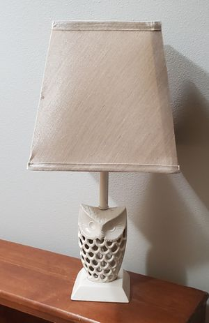 Owl lamp for Sale in Tacoma, WA
