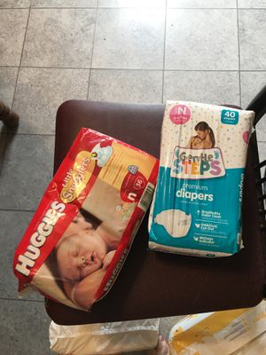 Newborn diapers for Sale in Buckley, MI