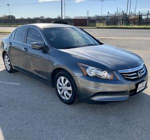 Well kept 2012 Honda Accord LX for Sale in Dallas, TX
