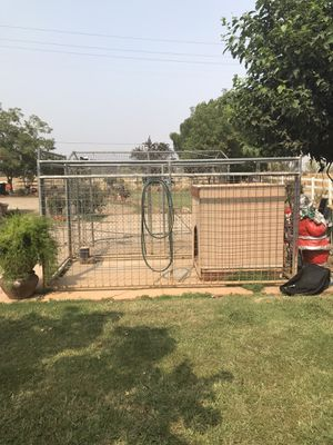 Outdoor Dog kennel with tack weld for Sale in Sacramento, CA