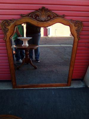 Solid Oak Frame Mirror for Sale in Visalia, CA