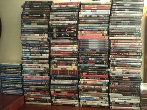 LOT OF 205 DVDS AND BLU-RAYS for Sale in Lewis McChord, WA