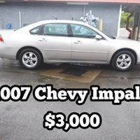 2007 Chevy Impala - great condition for Sale in Dallas, OR