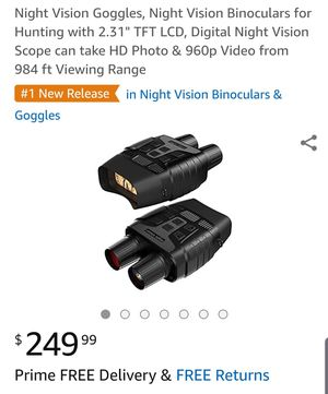 Night Vision Goggles for Sale in Sunbury, OH