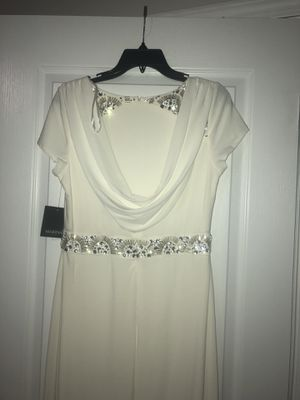 White prom wedding bridesmaid dress for Sale in Cumming, GA