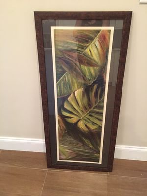Tropical wall art! Never used for Sale in Pompano Beach, FL