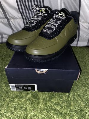 Nike Lunar Force 1 Duckboot Low Olive Mens Size 9.5 for Sale in Chicago, IL