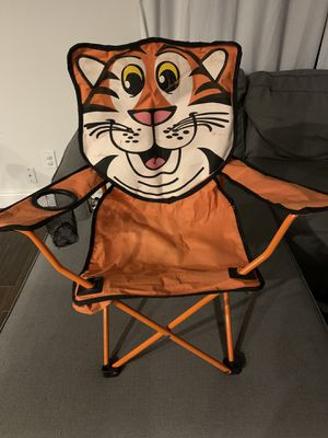 Kids tiger folding chair for Sale in FL, US