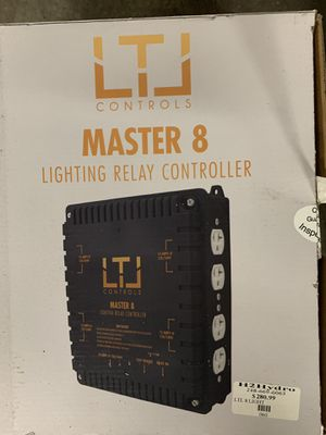 LTL master 8 lighting relay controller - grow marijuana for Sale in Detroit, MI