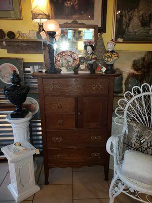 Antique tiger oak high boy for Sale in Spartanburg, SC