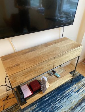 WEST ELM CONSOLE for Sale in Union, NJ