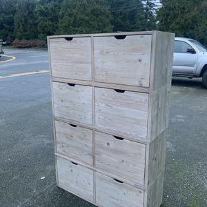 Modular Dresser (cubbies) for Sale in Mountlake Terrace, WA
