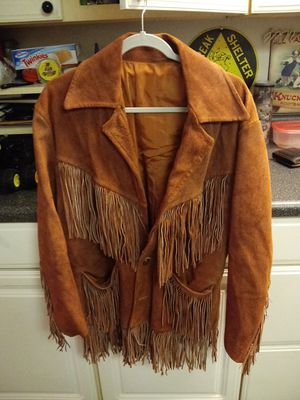 COWBOY FRINGE JACKET for Sale in Greensboro, NC