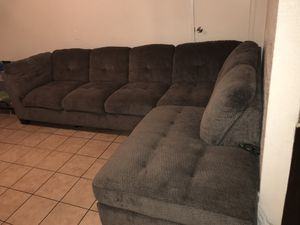 Chocolate brown couches $400 for Sale in Grand Terrace, CA