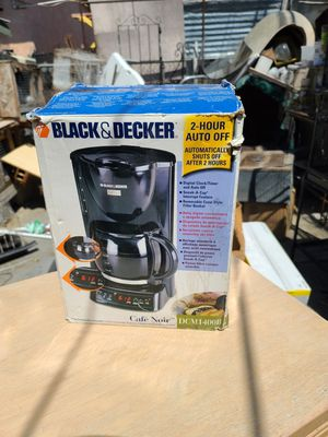 Brand new Cafe noir model black and decker cofee maker for Sale in Los Angeles, CA