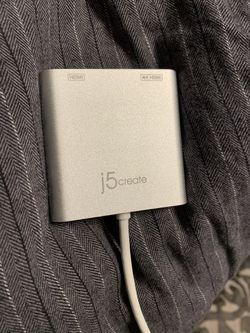 j5create USB 3.0 to Dual HMDI Multi Monitor Adapter - (One 4K /1080p HMDI) for Sale in Dublin,  CA
