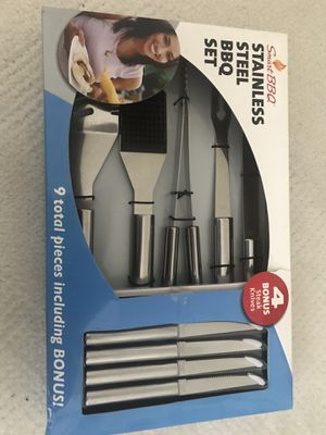 NEW Stainless Steel BBQ Set for Sale in Chantilly, VA