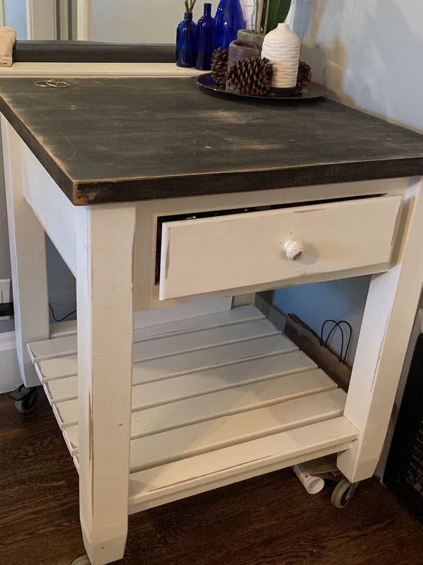 Kitchen Island / crate and barrel / pier one