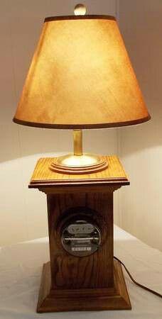 Vintage Westinghouse Electric Watt Hour Meter Lamp- for Sale in Vista, CA