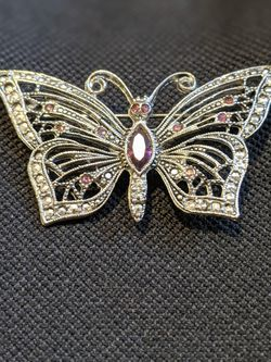 Buttery Brooch With Purple Accents for Sale in Walnut Creek,  CA