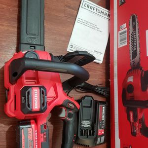 Craftsman Chainsaw 12in Brushless, Battery 4.0 And Charger New for Sale in Laurel, MD