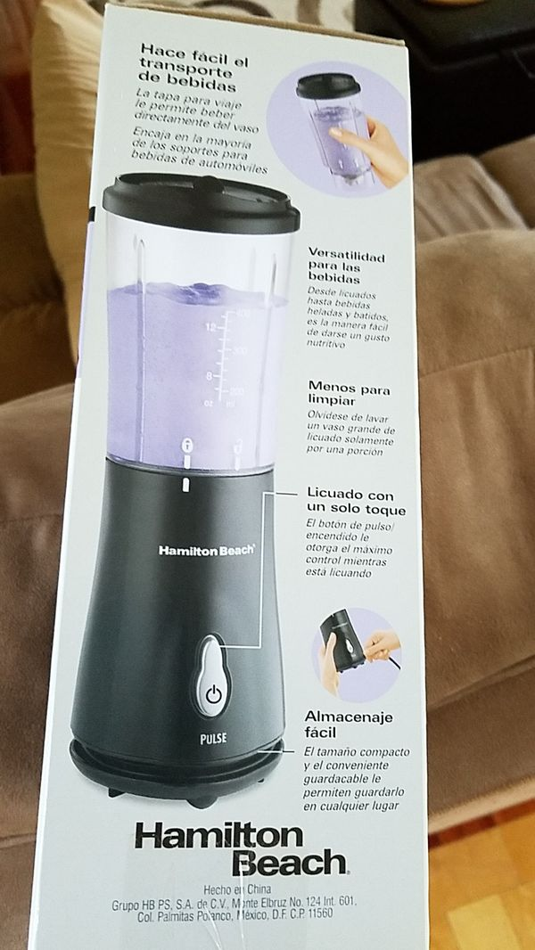 Brand NEW - Hamilton Beach Single-Serve Blender with Travel Lid GREAT DEAL!!!