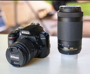 Nikon DSLR 3400 Kit with 18-55, 70-300 mm lenses for Sale in Santee, CA