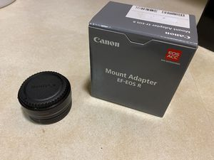 Canon EOS EF to EOS R RF Mount Adapter for Sale in Fullerton, CA
