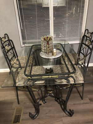 Glass Dining Table for Sale in Concord, CA