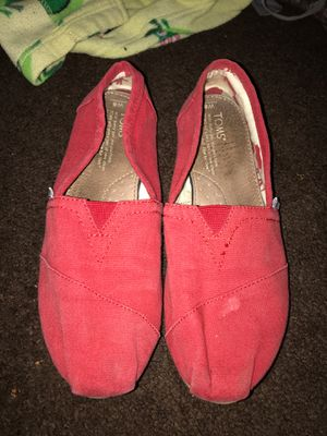 Red Women's TOMS for Sale in Fresno, CA