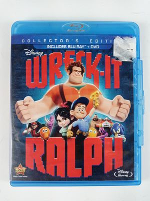 Wreck-It Ralph (Two-Disc Blu-ray/DVD Combo) DVD for Sale in Austin, TX