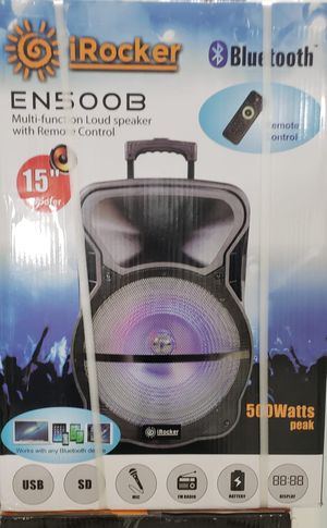 Bluetooth speaker 15 in for Sale in Miami, FL