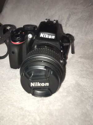 Black Nikon D3300 DSLR Camera for Sale in Opa-locka, FL