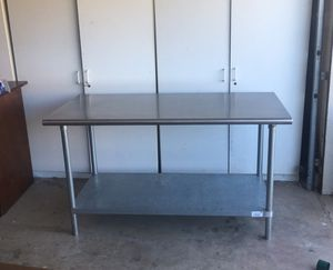 Stainless Steel Table for Sale in Tracy, CA