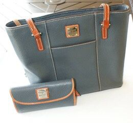 Donney and Burke leather handbag and leather wallet for Sale in Gig Harbor, WA