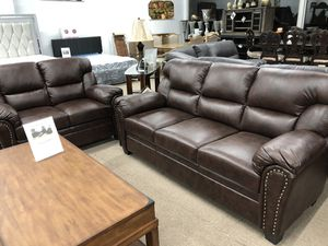 Durablend leather sofa and loveseat for Sale in Elgin, IL