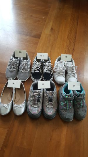 Kids Shoes Adidas Vans Swiss Gear Merrell So Sizes 12 - 13 $10 each for Sale in Everett, WA