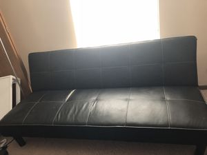 Faux leather futon for Sale in Columbus, OH