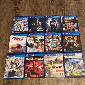 $50 For All PS4 Video Games for Sale in Compton, CA