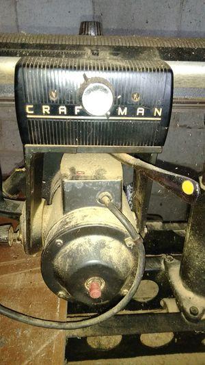 Craftsman radial arm saw. for Sale in Caro, MI