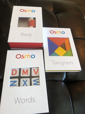 Osmo Base and 2 Games for Sale in Highlands Ranch, CO