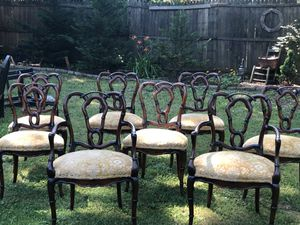 8 Gorgeous antique chairs for Sale in Centreville, VA