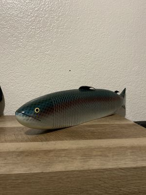 "Handmade 20"" Wiggle Wood Salmon for Sale in Fresno, CA"