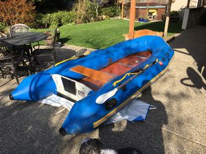 1991 Achilles Inflatable Boat, Model SPD-5AD for Sale in Bothell, WA