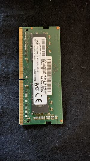 Micron or SK Hynix 1rx8 pc4 2133p DDR4 SODIMM - New - Removed for upgrade for Sale in Houston, TX