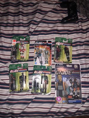 Gi joe action figures collection for Sale in West Park, FL