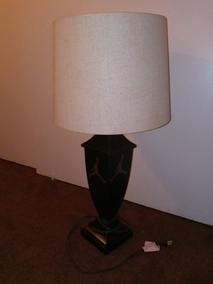 Black lamp (does work. Bulb blown) for Sale in Bakersfield, CA