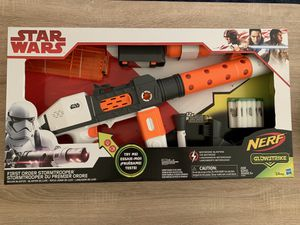 Large nerf gun set STAR WARS in Tracy for Sale in Tracy, CA